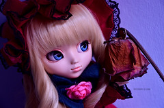 9 Years   Pullip Shinku (·Kumo~Milk·^^) Tags: pullip shinku rozenmaiden rozenmaidentraümend obitsu rewigged wig eyelashes rose gloss doll junplanning groove anime manga
