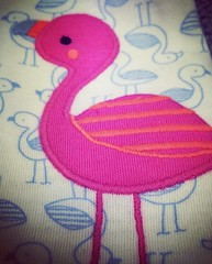 Flamingo Applique (booboo_babies) Tags: target flamingo 2015 cute applique childrensclothing clothes pink birds