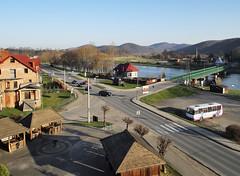 Sanok, Poland 09/04/2018 (Gary S. Crutchley) Tags: sanok southern south poland polski history heritage east eastern europe travel olympus epl1 river san