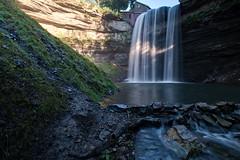 Upper Decew Falls (FamHiroshima) Tags: falls waterfall waterfalls decewfalls ontario canada niagara landscapes landscape scenery scenic nature longexposure fuji fujifilm fujix xt2 lake water hill