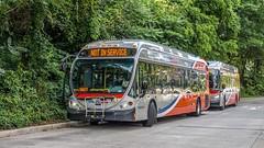 WMATA Metrobus 2014 NABI 42 BRT Hybrid #8049 (MW Transit Photos) Tags: wmata nabi 42 brt hybrid