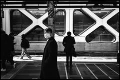 Shinjuku Station, JR, Shinjuku-ku, Tôkyô-to (GioMagPhotographer) Tags: tōkyōto eastofthesun metrostation shinjukuku leicamonochrom japanproject japan shinjuku tokyo tkyto flickrexplore