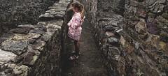 Abbi at kidwelly castle (Rich J Photo) Tags: kidwelly carmarthen llanelli pembrey burryport stones bricks castle old ruins abbi carmarthenshire daughter windy family