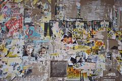 Paris No 57 (• CHRISTIAN •) Tags: paris france urbain urban art streetart poster grandangle wideangle palimpseste