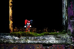 M34A1834 (scilly puffin) Tags: harleyquinn legography minifigure