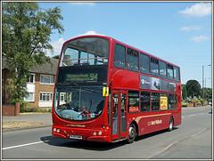 NXWM 4481 (Jason 87030) Tags: wright gemini brum bham birmingham midlands west nationalexpress nxwm bus doubledecker red maroon livery 4481 2018 bj03ewm coleshillroad catslebromwich route service bucklandend sony ilce alpha a6000 nex lens tag