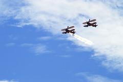 DSC_0640_001 (Gobbledeek) Tags: wales national airshow 2018 air show walesnationalairshow aerosuperbatics wing walkers aerosuperbaticswingwalkers wingwalkers