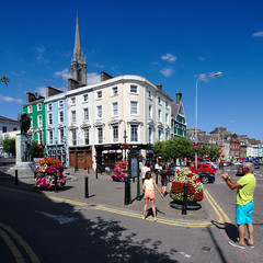 Cobh (Jacek Rudowski) Tags: cobh county cork ireland buildings windows architecture church tower street city cityscape people pedestrians lamps lampposts lanternns flowers trees blue sky sunny day sunshine tourism travel weekend travelphoto travelphotography tourists town window building architektura streets streetphoto streetphotography bluesky colors colorphoto colourphoto colorphotography colourphotography colours color colorful colourful colour colorimage shadow light lightandshadow lightandshadows