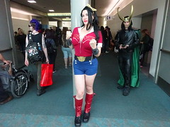 Bombshells Wonder Woman - You Can Do it! (Sconderson Cosplay) Tags: comiccon sdcc san diego 2018 cosplay saturday day 3 wonder woman diana themyscira loki laufeyson