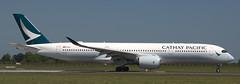 Airbus A-350-941 B-LRX (707-348C) Tags: dublinairport dublin dub airliner jetliner airbus airbusa350 a359 blrx cathaypacific cathay cpa swiregroup passenger eidw ireland 2018