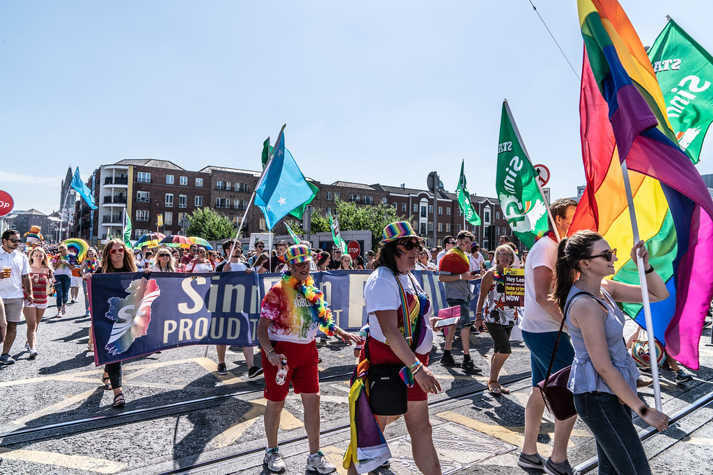 ABOUT SIXTY THOUSAND TOOK PART IN THE DUBLIN LGBTI+ PARADE TODAY[ SATURDAY 30 JUNE 2018] X-100093