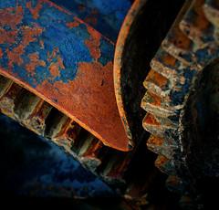 Gears - Spokane, WA (j-rye) Tags: sonyalpha sonya6000 sony a6000 ilce6000 mirrorless gears rust spokane abstract steel centenialtrail 994lkg