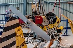 Inside the Hanger at The Shuttleworth Collection (dandridgebrian) Tags: oldwarden shuttleworthcollection vintageaviation airdisplay littlenellie wallisautogyro