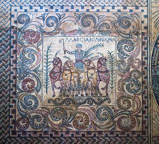 Marcianus, ancient roman sport star  / Marciano, estrella romana del deporte