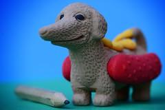 Hotdog. Eraser. (frankvanroon) Tags: macromondays eraser hotdog fun funny play mm hmm 7dwf mondaysfreetheme