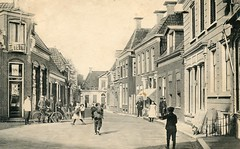 Appingedam Gouden Pand ca. 1913 (hjrnoorden) Tags: appingedam goudenpand