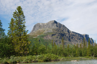 Mount Tjakkeli - Gate to Sarek