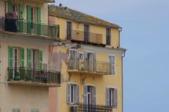 650 - Bastia sur le Vieux Port (paspog) Tags: facades façades fassaden balcons balconies bastia vieuxport corse corsica france mai may 2018