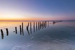 IMG_3623 (chemist72 (Pascal Teschner)) Tags: canon7dii sea sunset beach ocean sky bay water landscape shore sand waddenzee mudflats mud wadden groningen netherlands longexposure leefilter ndfilter