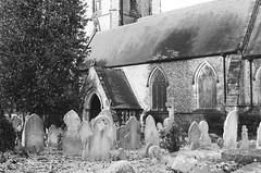 Chuch Yard (Caroline Kutchka Folger) Tags: cemetary graves graveyard old church london england croydon eastcroydon