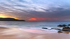 Sunrise Seascape (Merrillie) Tags: daybreak landscape cloudy dawn waves waterscape water sunrise newsouthwales clouds earlymorning nsw sky seascape ocean sea rocks nature coastal morning outdoors killcarebeach australia centralcoast killcare coast