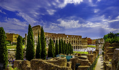 Colosseum approach (sumnerbuck) Tags: italy rome colosseum