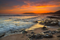 Shell Beach Sunset (Mimi Ditchie) Tags: shellbeach clouds rocks seascape shoreline sunset waves ocean pacificocean water beach sand getty gettyimages mimiditchie mimiditchiephotography