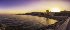 Summer is coming (Ragnarøkkr) Tags: ifttt 500px nikon d7200 tamron18400 sunset twilight townscape waterfront promenade coastline riverbank skyline dawn bay loano liguria kursaal