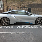 Parking spot for electric vehicles only thumbnail