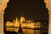 Lights at night (chochera7) Tags: building palace parliament budapest hungary