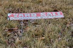 Old Yard Sale Sign (Bracus Triticum) Tags: old yard sale sign calgary カルガリー アルバータ州 alberta canada カナダ 12月 december winter 2017 平成29年 じゅうにがつ 十二月 jūnigatsu 師走 shiwasu priestsrun