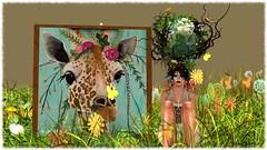 Happy Earth Day (Esme Capelo) Tags: secondlife second life esme capelo giraffe