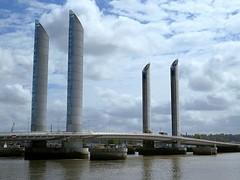 The Pont Jacques Chaban-Delmas, Bordeaux, SW France. (Nigel L Baker) Tags: bridge garonne bordeaux