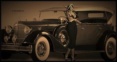 Class Never Goes Out Of Style (Moxxie Kalinakova) Tags: sepia moxxie kalinakova retro vintage smoking