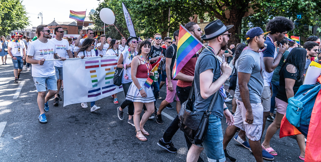 ABOUT SIXTY THOUSAND TOOK PART IN THE DUBLIN LGBTI+ PARADE TODAY[ SATURDAY 30 JUNE 2018] X-100172