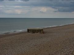 The beach west of Weybourne (JonCombe) Tags: norfolk coastwalk208 sheringham cromer salthouse coast path england norfolkcoastpath englandcoastpath