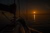 Morning has broken.... (Dafydd Penguin) Tags: sun rise sunrise sea water coasting coast cruising cruise boat sailboat hallberg rassy yacht yachting sailing day break sete mediterranean france leica m10 elmarit 21mm f28