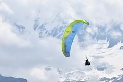 Paragliding (LRO_1) Tags: nikon nikond7200 d7200 camerabag2 switzerland berneroberland paragliding murren cantonofbern
