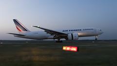 F-GUOB-Air-France-777F-2018--06-29 (GFB Aviation Photography) Tags: fguob airfrance 777 777f iah kiah