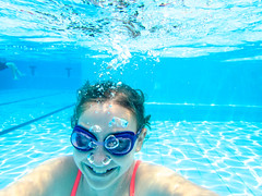 pooltime-8 (lermaniac) Tags: red pool swimingpool girl outdoors teen water countryclub underwater child blue dive