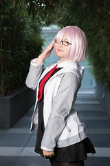 Mashu Kyrelight (Casual Ver.) (asiantango) Tags: animeconvention animeexpo california celebrationevent centralcity cosplayseries fateseries item jwhotel jwhotelpool losangelescounty object out outdoor outdoors outside outsides sunny weather