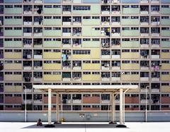(shuttermaki) Tags: fuji gs645s 60mmf4 hongkong hk kowloon asia gursky architecture portra400 645 film 120 mediumformat city