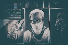 Hafenklang (michael_hamburg69) Tags: hamburg germany deutschland hafen harbor harbour goldenersalon hafenklang groseelbstrasse84 liveclub sticker bilder poster events sailor matrose seemann scary friday13thlike