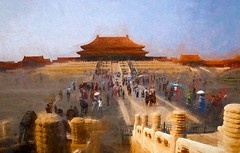 """""""What keeps my heart awake is colorful silence.""""C.M. (krillmerma) Tags: impressionist forbidden city beijing colour color paint"""