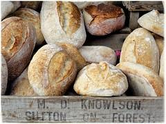Lovely bread... (zapperthesnapper) Tags: bread streetmarket kirkbylonsdale
