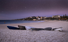 Stuck In A Moment (Emerald Imaging Photography) Tags: coogee coogeebeach sydney bondi australia australian australianlandscape seascape sunrise stars headland beach sand boat boats longexposure le newsouthwales nsw