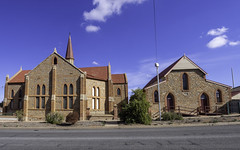 Wesley Uniting Church 1888 and Hall 1885 - Broken Hill NSW - see below (Paul Leader - Paulie's Time Off Photography) Tags: brokenhillnsw brokenhilltrip2018 built1885 built1888 churchhall churchofchrist heritagelisted unitngchurch wesleychurch wesleyhall paulleader architecture oldbuilding building heritagebuilding god christian christianity saviour savior faith olympus olympusomdem10 nsw newsouthwales australia