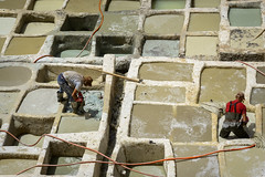 Tetris (Darren Poun) Tags: chaouwaratanneries fez morocco africa arab arabic moroccan architecture traveling leather medina nikon d800 d800e nikkor105mm f14 heritage monument ngc