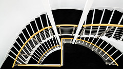 a short story about staircase (ignacy50.pl) Tags: stairs staircase lines minimal minimalism abstract composition sony mirrorlesscamera indoor architecture