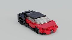 Veyron... (Fictitious Pasta) Tags: race lego legocar legobuild legotoys legocars legolego legophotography build blenderrender blender mecabricks 1 43 scale